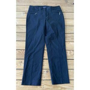 White House Black Market Ankle Zip Pocket Pants 6